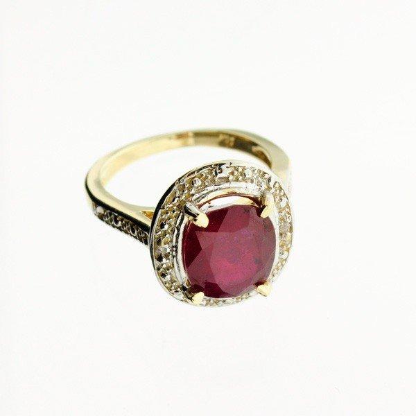 APP: 9.1k 14 kt. Gold, 5.15CT Ruby Ring