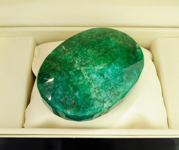 APP: 83k 1,238.35CT Green Emerald Gemstone