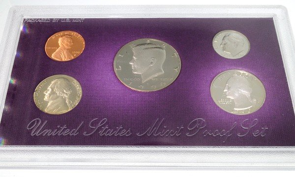 1990 United States Proof Set Coin - Investment