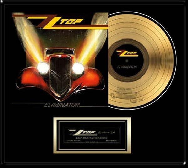 "ZZ TOP ""Eliminator"" Gold LP"