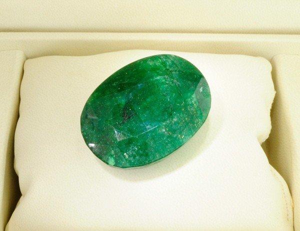APP: 18.4k 274.60CT Oval Cut Emerald Gemstone