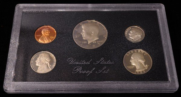1983 United States Proof Set Coin - Investment