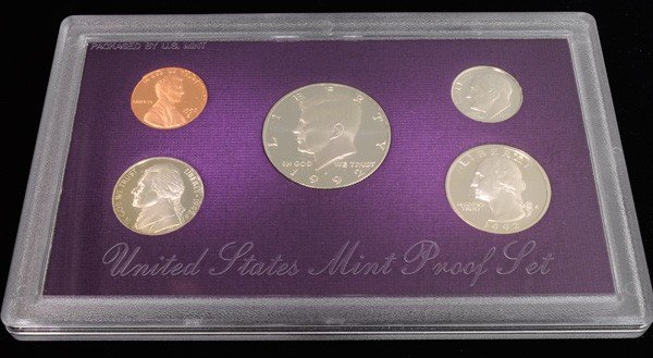 1992 United States Mint Proof Set Coin - Investment