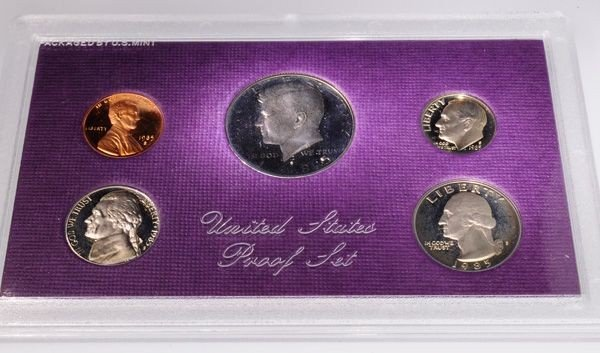 1985 United States Proof Set Coin - Investment