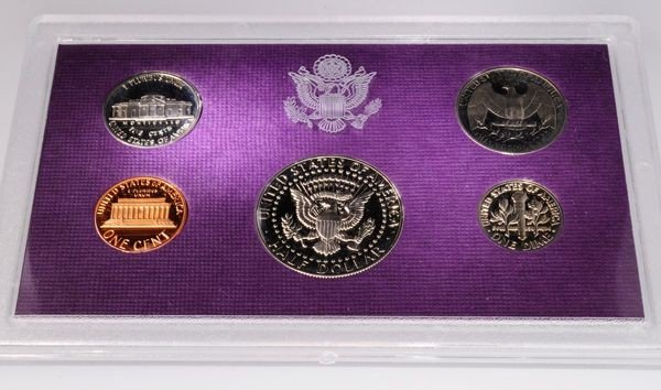 1985 United States Proof Set Coin - Investment - 2