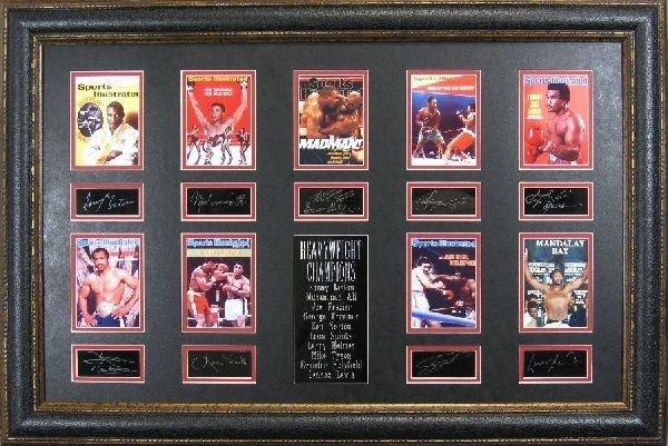 Heavyweight Champions - Plate Signatures