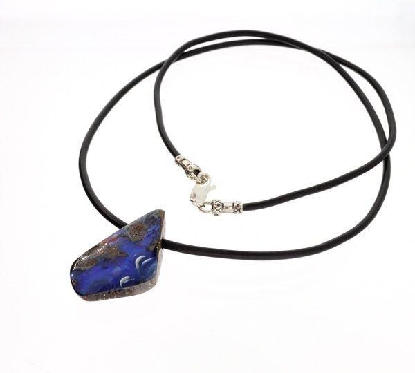 APP: 13.9k Boulder Opal Necklace