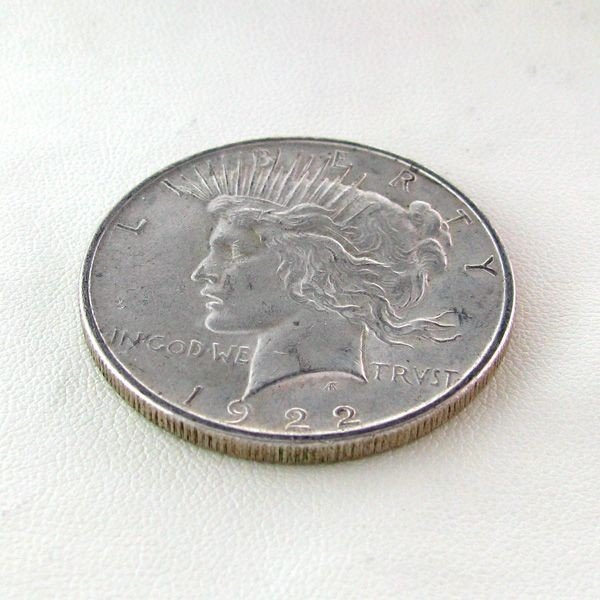 1922 Peace Silver Dollar Coin - Investment