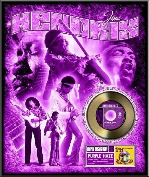 "JIMI HENDRIX ""Purple Haze"" Gold 45"