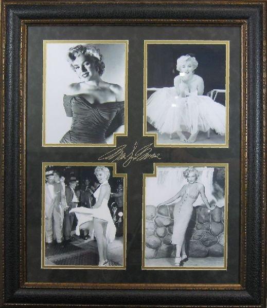 Marilyn Monroe - Plate Signature