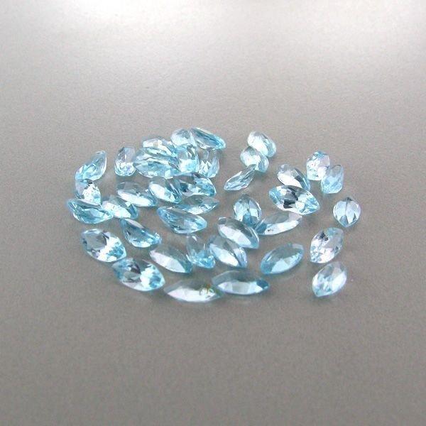 25.00CT Blue Topaz Marquise Cut Parcel