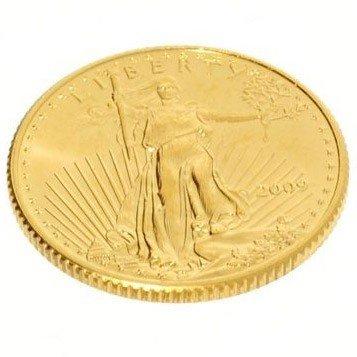 2009 $5 U.S. 1/10 oz. Gold American Eagle Coin