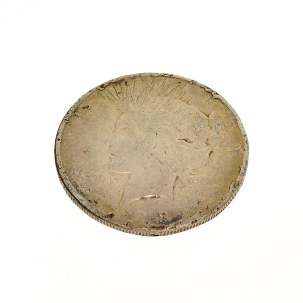 1923-D U.S. Peace Silver Dollar Coin - Investment