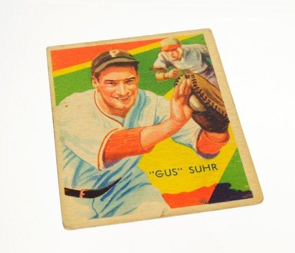 Gus Suhr #56 BP $20-$100 Green Dia. Stars Baseball Card