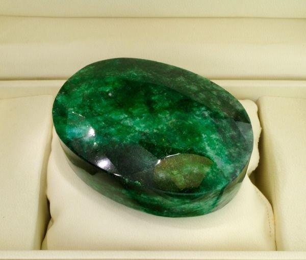 APP: 135.5k 2,021.80CT Oval Cut Emerald Gemstone