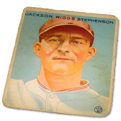 Jackson Stephenson #204 BP $30-165 Goudey Baseball Card