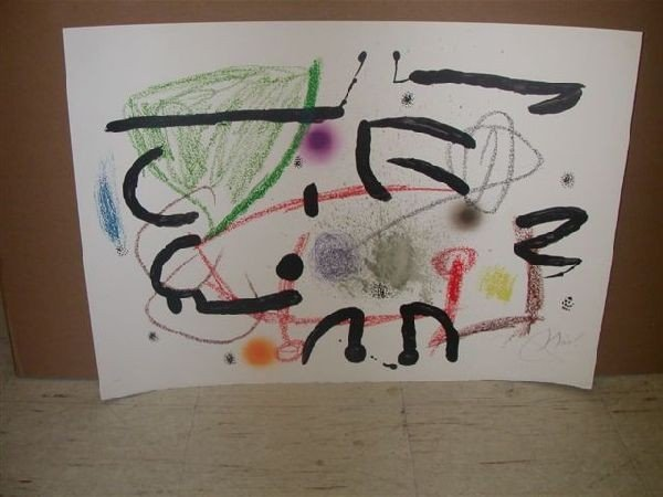 Joan Miro Print