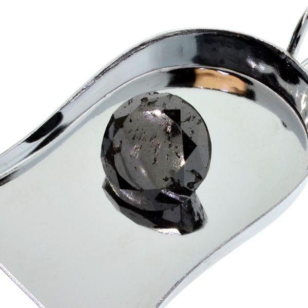 25.40CT Rare Black Diamond Gemstone