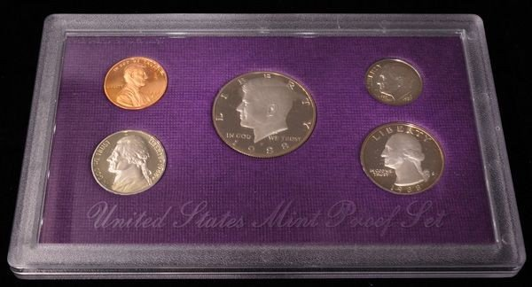 1988 United States Proof Set Coin - Investment