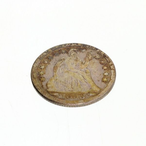 1853-w/A U.S. Seated Liberty Dime  Coin - Investment