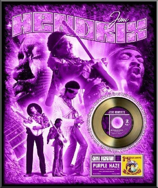"JIMI HENDRIX ""Purple Haze"" Gold 45"