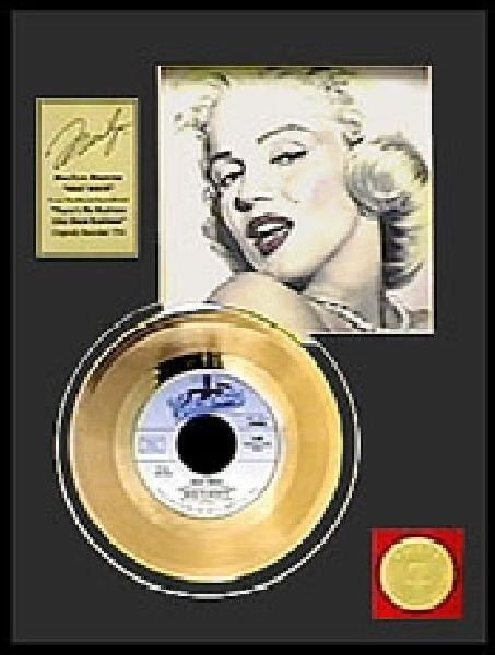 "MARILYN MONROE ""Heat Wave"" Gold Record"