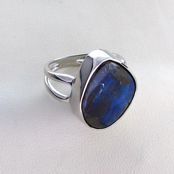 APP: 14.3k 18.64CT Boulder Opal & Sterling Silver Ring