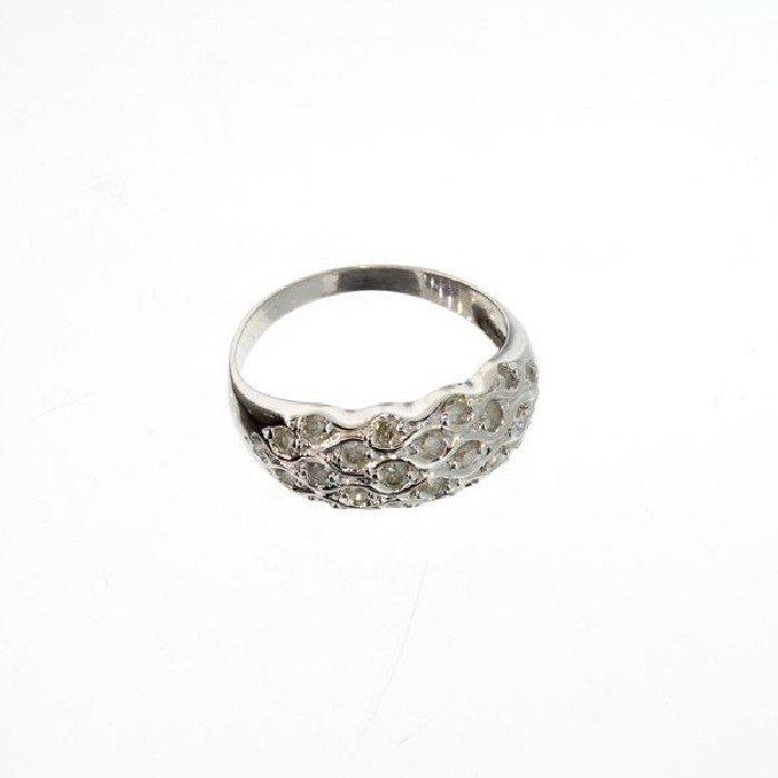 APP: 1.8k 14 kt. White Gold, 0.41CT Diamond Ring