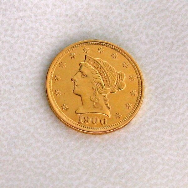 1900 U.S. $2.5 Liberty Head Gold  Coin - Investment