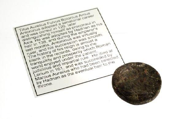 138-161 AD Syria Cyrrhestica Hieropolis Antoninus Coin