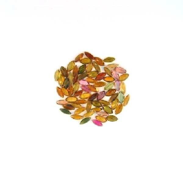 21.35CT Marquise Cut Mixed Tourmaline Parcel
