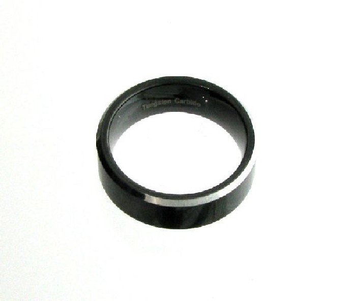 Tungsten Carbide Size 10 Ring