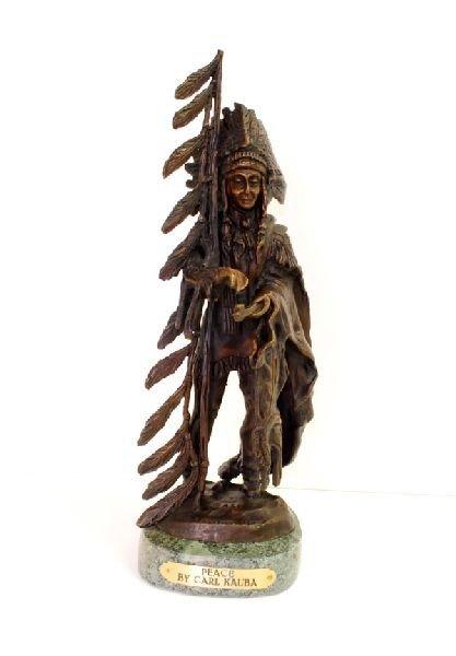 War - By Carl Kauba - Bronze Reissue