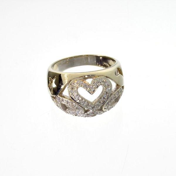APP: 4.2k 14 kt. Gold, 0.55CT Diamond Ring