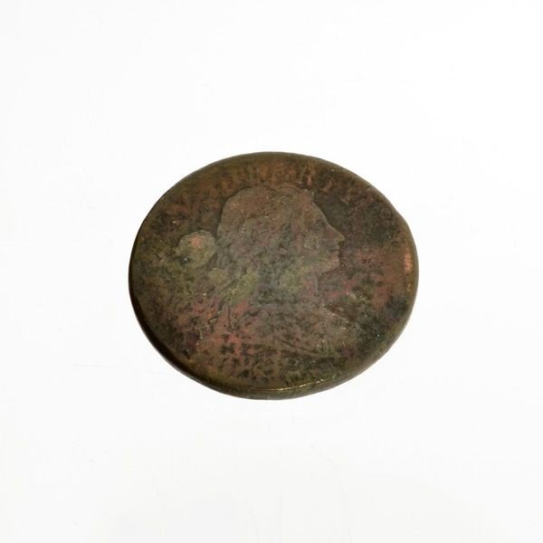 1832 Busted Liberty One Cent Coin - Investment