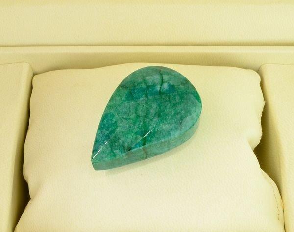 APP: 22.7k 226.55CT Pear Cut Emerald Gemstone