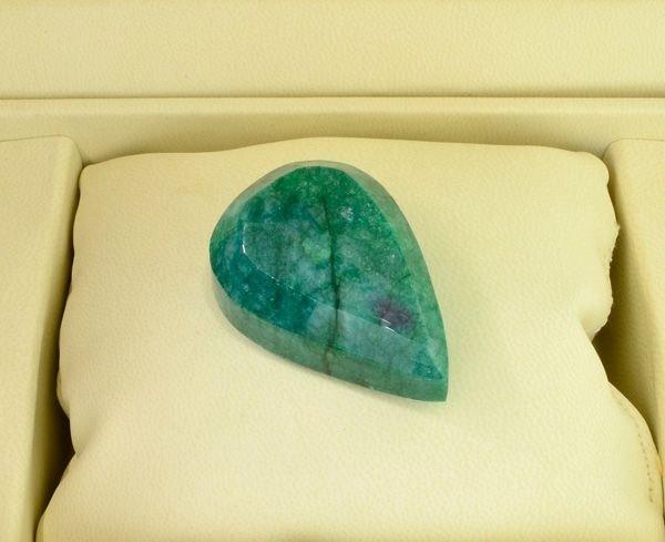APP: 22.7k 226.55CT Pear Cut Emerald Gemstone - 2