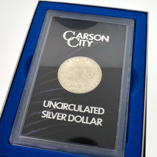 1884-CC U.S. Morgan Dollar in GSA Box Coin - Investment