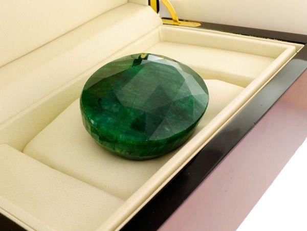 APP: 57.4k 911.10CT Emerald Gemstone