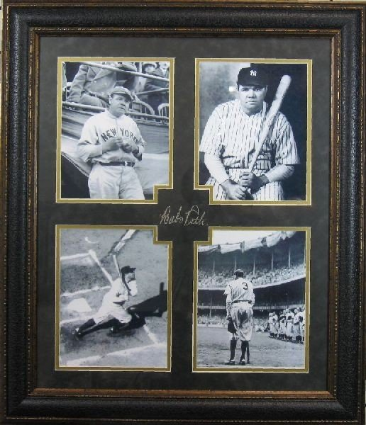 Babe Ruth - Plate Signature