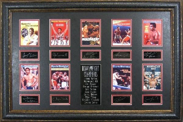 Heavyweight Champions - Plate Signatures