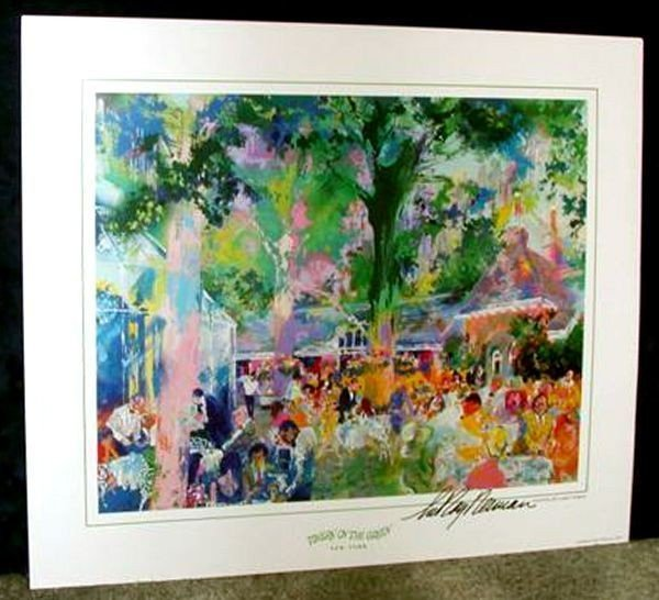 Hand Signed LeRoy Neiman: Tavern on the Green