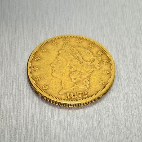 1877-CC $20 U.S. Liberty Head Gold Coin