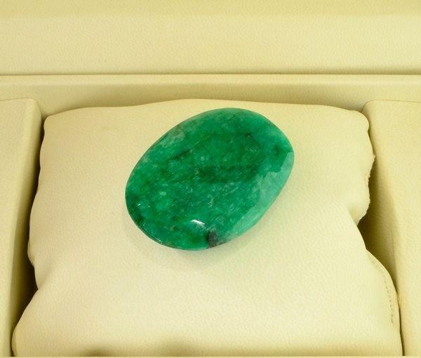 APP: 29.3k 195.10CT Oval Cut Emerald Gemstone