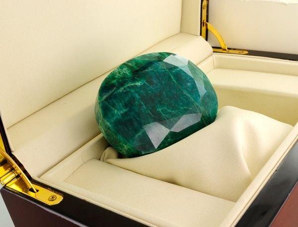 APP: 57.2k 1,393.90CT Emerald Gemstone