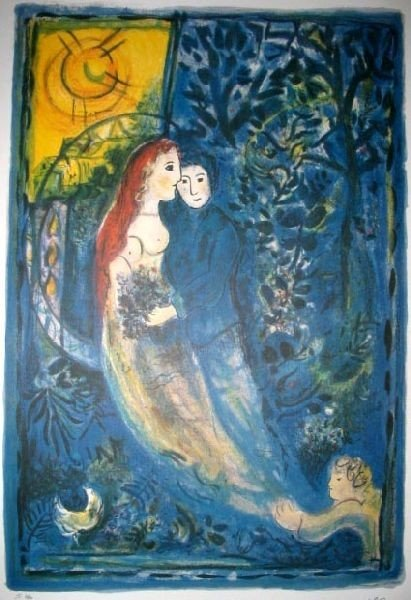 MARC CHAGALL The Wedding Print, Limited Edition