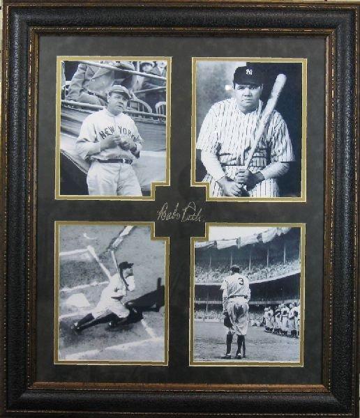 Babe Ruth - Plate Signature