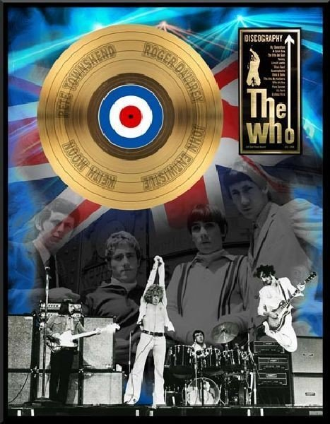 """THE WHO """"Discography"""" Gold LP"""