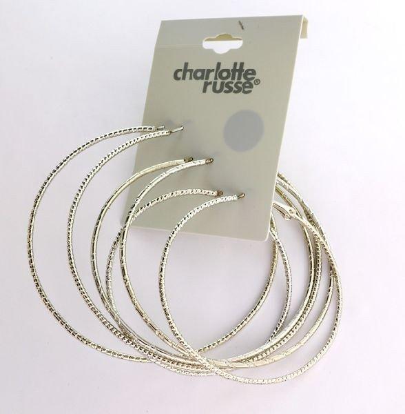 Charlotte Russe Jewelry - 3 Different Loop Earrings