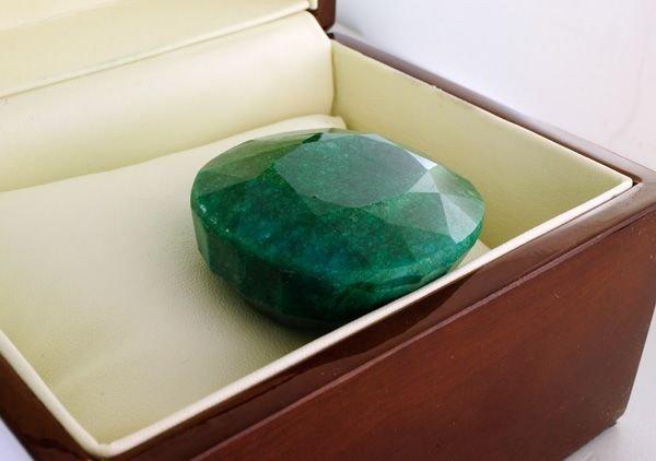 APP: 61.4k 409.15CT Oval Cut Emerald Gemstone